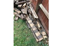 Free Wood - from decking frame (firewood?)