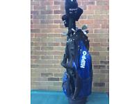 Hippo HD6 Golf Clubs with Bag & Cart