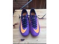 Nike mercurial football boots + asto trainers