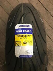 190/50/17 Michelin pilot road 3
