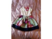 Ted Baker Dress Size 2-3yrs BNWT