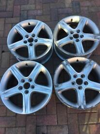 Lexus 17; alloy wheels x 4 Collection Fleet £150 for all 4