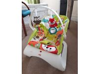 Fisher Price Animal Friends baby bouncer