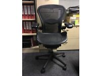 office chairs herman miller aeron with lumbar support