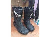 Alpine star smx motorbike boots