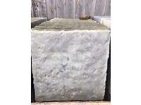 Brand new paving slabs 450 x 450 charcoal grey