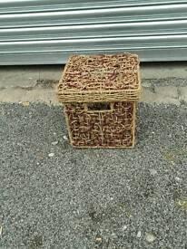Rafia storage box