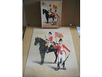 "Military Uniforms ""HORSE GRENADIER GUARDS 1788"" 450 piece Waddingtons puzzle. Complete."