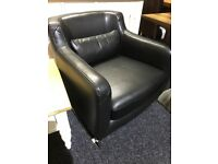 High quality leather NEW armchair