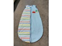 On the road by mothercare baby sleeping bag and matching curtains