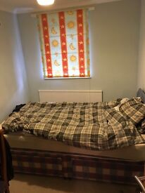 A spacious, furnished double room is available to rent!!