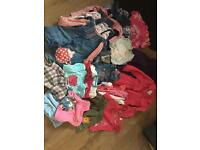 Baby girls 12-18 months clothes big bundle dresses sets tops jeans jacket