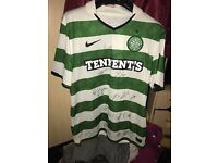 Signed Celtic fc top 2010/11 Season