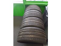 Second hand 4 tyres for sale! Michelin 295/35 R21. £200.00