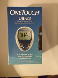 Brand new Lifescan One Touch Ultra 2 glucometer