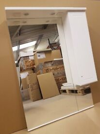 Large mirror with Cabinet