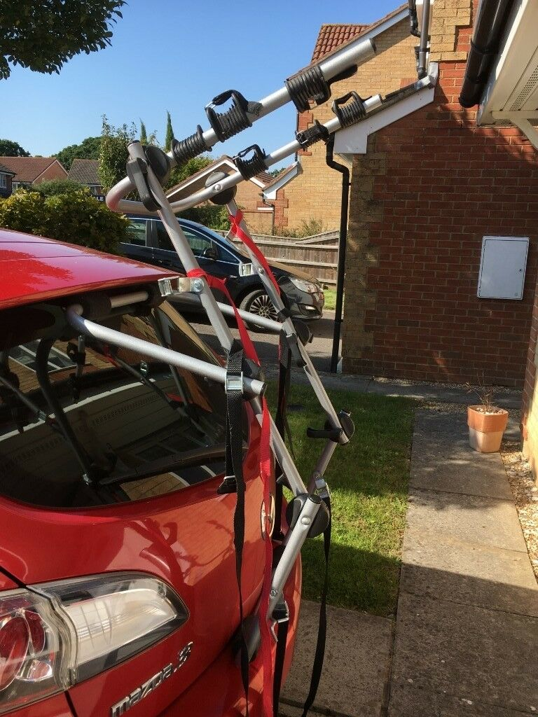 Rear High Mount 3 Cycle Carrier Bike Rack In New Milton Hampshire Gumtree