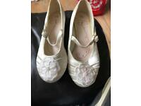 Bridesmaids shoes and bag