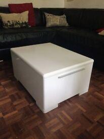 White Coffee Table / Storage