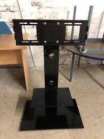 Free standing floating tv stand