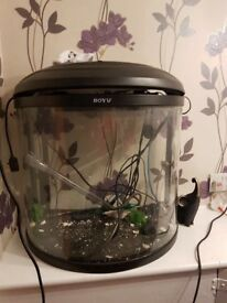 120 fish tank for sale good condition