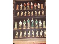 The history of golf chess figures