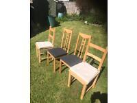 Chairs Ikea x 4