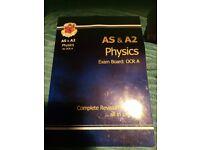 OCR A phsycis book for AS &A2