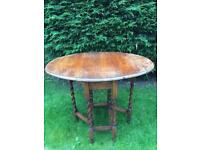 Ornate Barley-Twist Style Dining Table