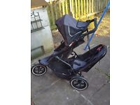 PHIL TED DOUBLE PUSHCHAIR