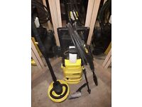 Karcher pressure washer with attachments