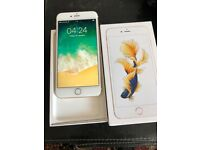 Apples IPhone 6s Plus 128gb Gold Unlocked with receipt