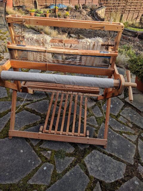 Folding Harris Countermarch 4 shaft handweaving floor loom | in Stevenage,  Hertfordshire | Gumtree