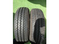 Michelin Pair 175 65 14C Commercial Tyres with 7mm Tread in West London Area