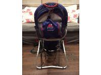 Child back pack carrier