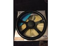 Ford Rs four spoke motorsport steering wheel Rs turbo cosworth escort