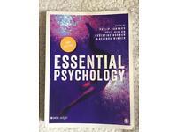 Essential Psychology text book