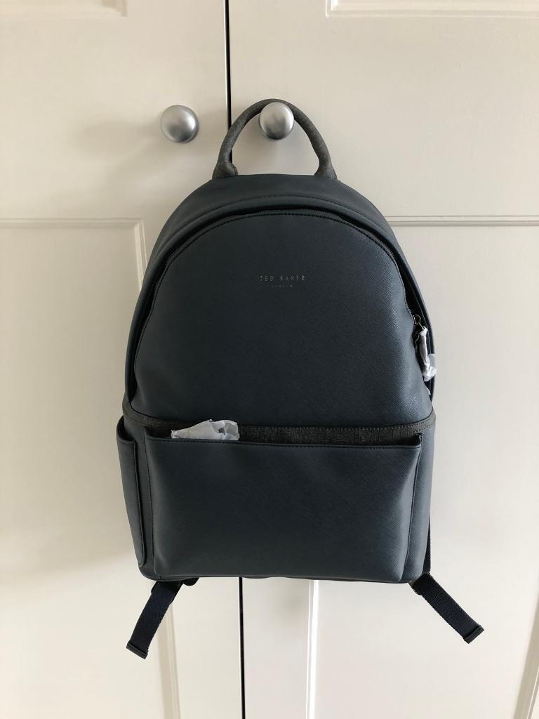 a30e33753 Ted baker men s navy blue backpack