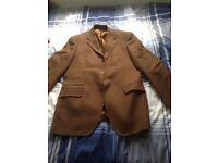 Brown Berry & Brian size 40 R tweed Jacket
