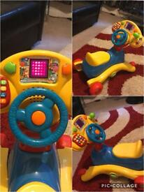 VTech Grow and Go Ride On. like new in excellent condition