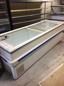 Shop display freezers for sale. More items in other ads such as fridges, butchers equipment etc.