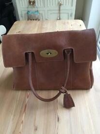 AUTHENTIC MULBERRY BAYSWATER IN OAK LEATHER - MINT CONDITION