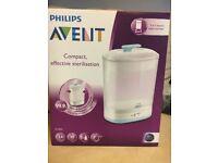 Philips Avent electric steam steriliser . New in box