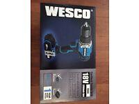 WESCO 18V CORDLESS COMBI DRILL