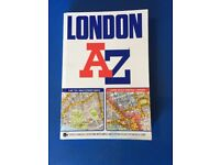 London A-Z ... bargain.... Topographical test Uber... £3.50