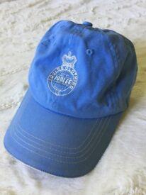 Satin blue Joules adjustable cap