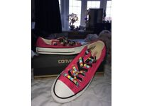 Women's Converse, Size 6, Worn Once (As Good as New)