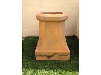 Victorian Chimney Pot Buff Colour Garden Planter