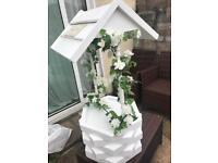 Wedding wishing well/post box!