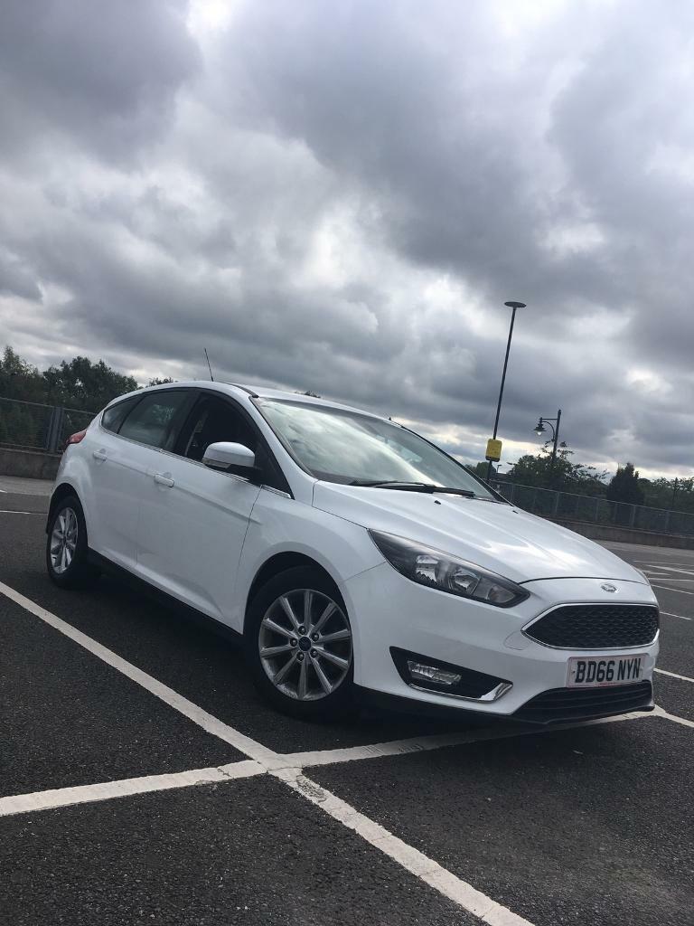 2016 Ford Focus Titanium White 1.5TDCI £0 TAX